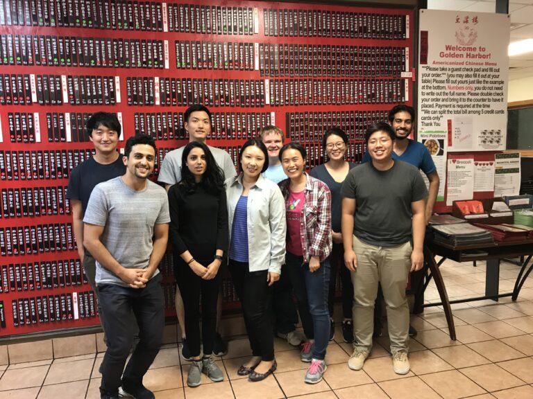 2018.08 Fengjiao's farewell dinner