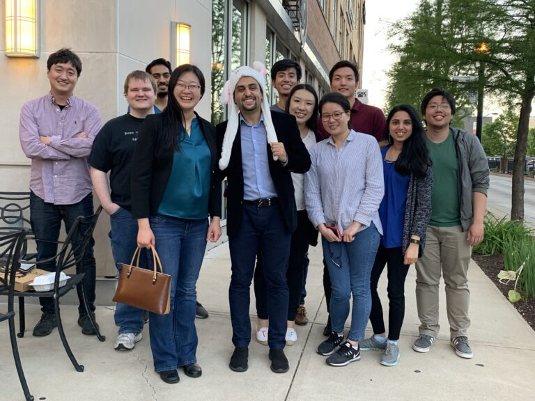 2019.05 Farewell dinner to Dr. Mohammadi, the first Ph.D. of our group